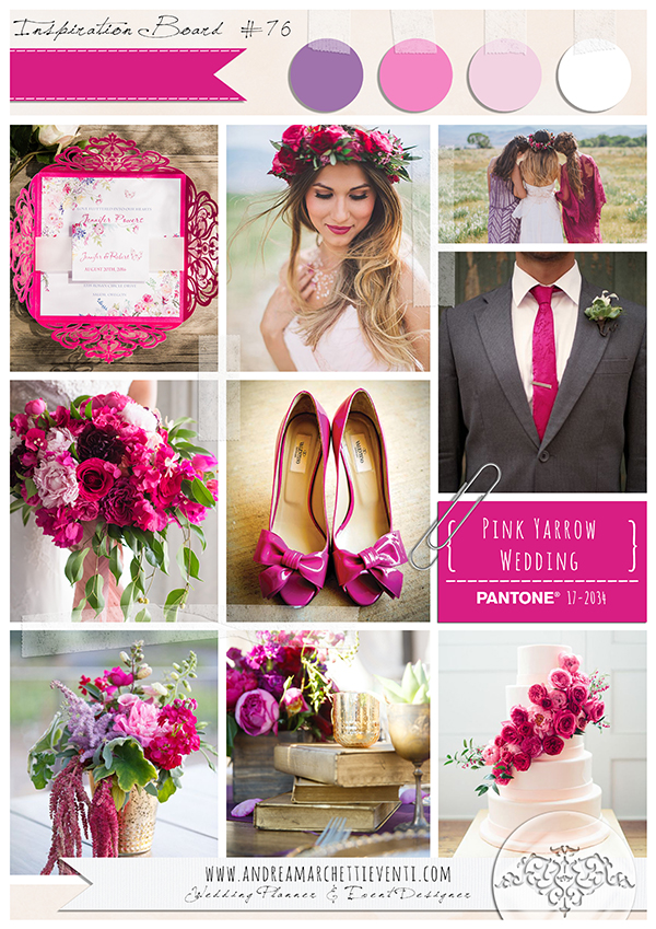 tendenze-matrimonio-2017-Pink-Yarrow-Wedding