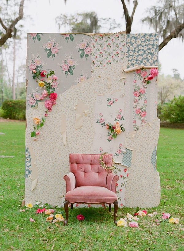 corner photo matrimonio shabby chic