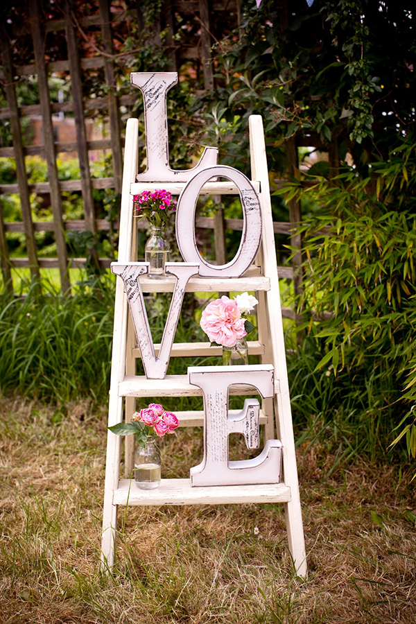 decorazione love shabby chic