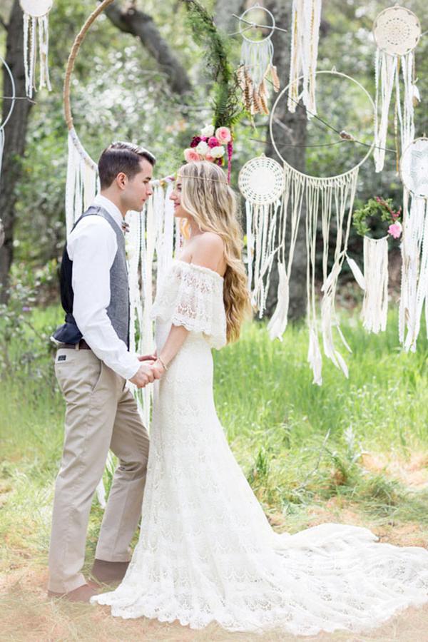 Matrimonio Bohemien Uomo : Matrimonio bohémien come organizzarlo al meglio