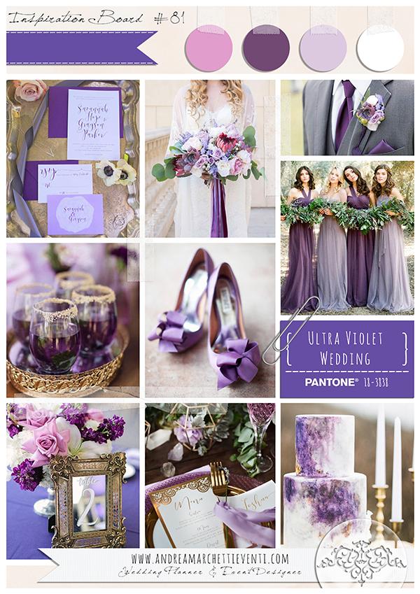 Matrimonio Colore Ultra Violet 2