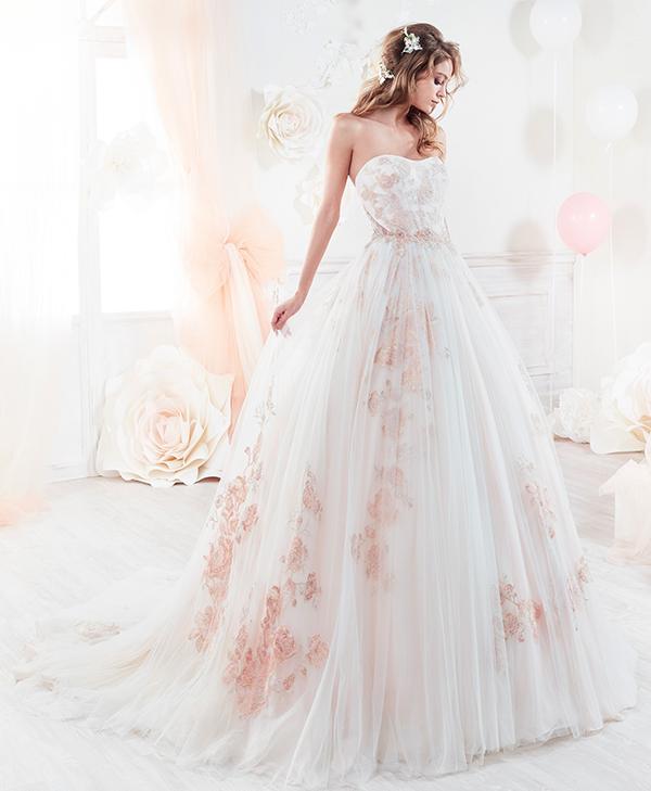 Vestiti Da Sposa Rosa Antico.Matrimonio Rosa Cipria